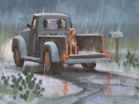 Genre Dogs oil paintings