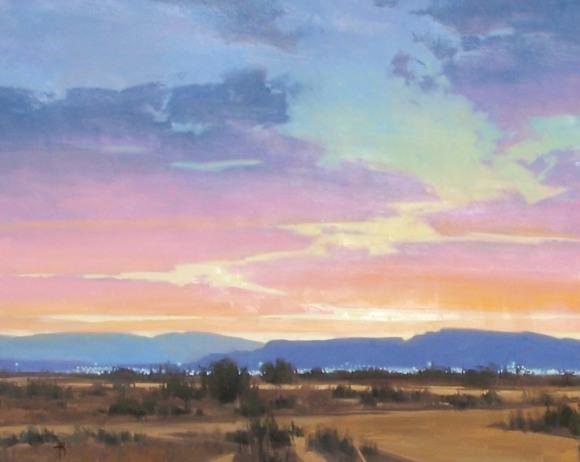Landscape oil paintings murals commissions