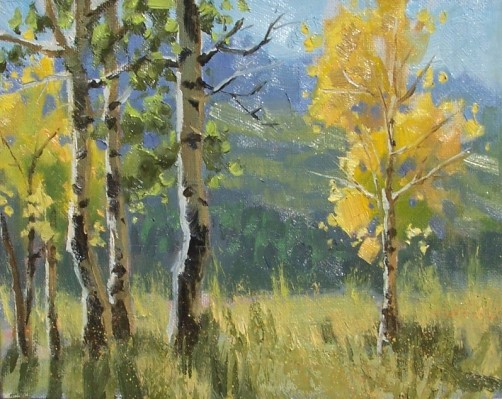 "Colorado Plein Air 8"" x 10"" oil painting by Tom Haas"