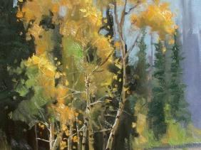 Colorado plein air landscape oil paintings