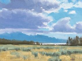 landscape plein air oil painting