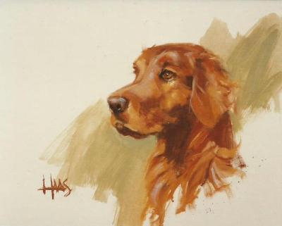 "Sam 16"" x 20"" award-winning oil painting by Tom Haas"