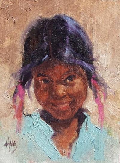 Oil paintings portrait