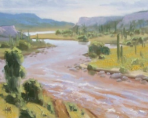landscape plein air oil paintings