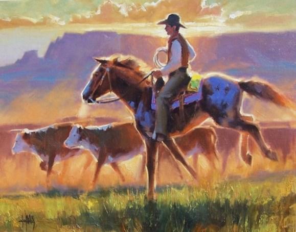 Western oil paintings
