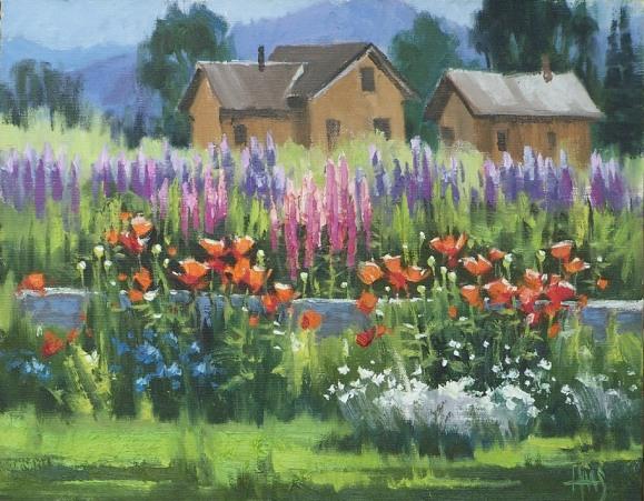 plein air landscape oil painitngs