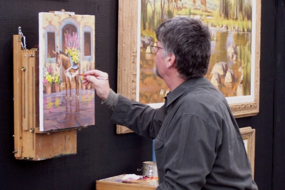 Tom Haas Art Show Demo 2005