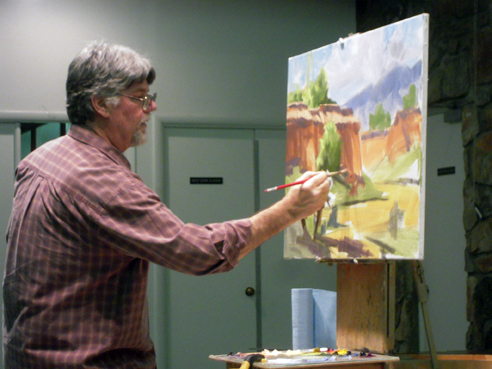 Tom Haas Scottsdale Artists League Demo 2010