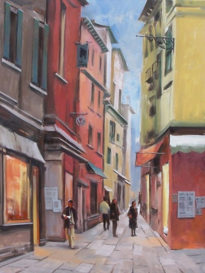 genre Tuscany oil paintings