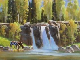 landscape pastoral oil paintings