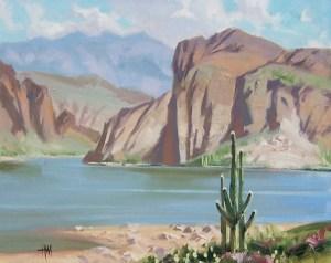 landscape canyon lake arizona