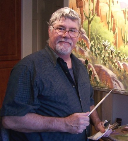 Tom Haas at Work in the Studio