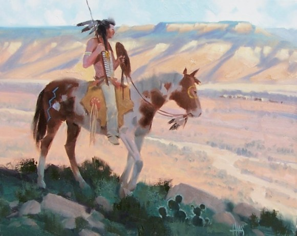 Western oil paintings