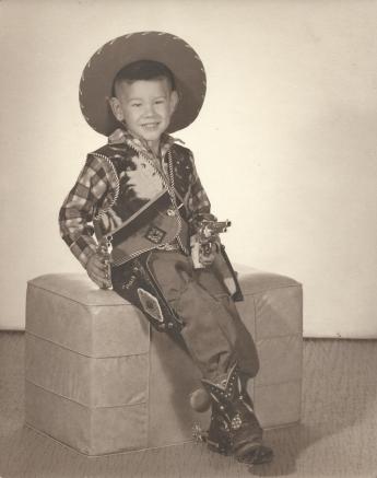 Tom Haas - Cowboy Artist Age 5