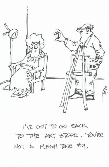 I've got to go back 2015 cartoon drawing by Tom Haas