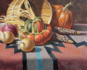 """Southwest Patterns 16"""" X 20"""" oil painting by Tom Haas"""