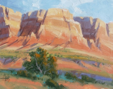 "Sedona 11"" x 14"" oil painting by Tom Haas"