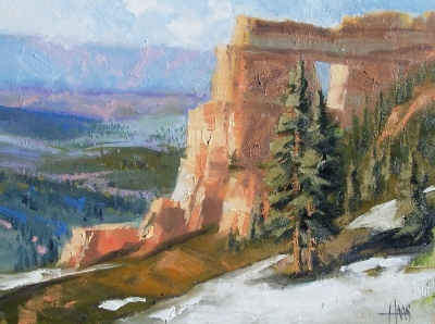 "North Rim - Grand Canyon 12"" x 16"" oil painting by Tom Haas"