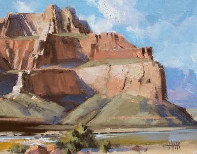 "Marble Canyon - Arizona 11"" x 14"" oil painting by Tom Haas"
