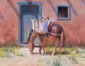 "Last Stop 11"" x 14"" oil painting by Tom Haas"