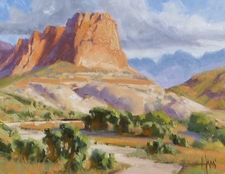 "Rustler's Roost - New Mexico 11"" x 14"" oil painting by Tom Haas"