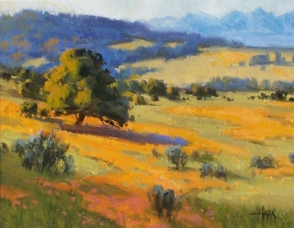 """Eye Candy - Northern Arizona 11"""" x 14"""" oil painting by Tom Haas"""