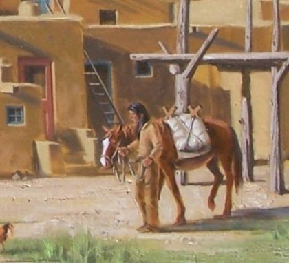 Pueblo Pinon Fires close-up 2