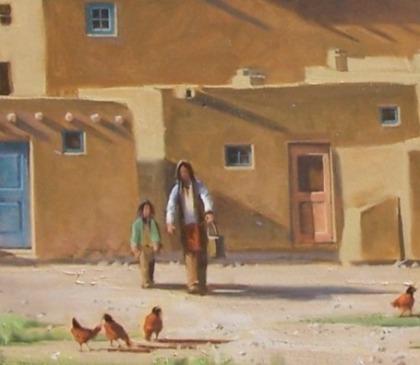 Pueblo Pinon Fires close-up 3